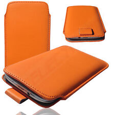 1A Slim Cover Case Schutz Hülle Etui Tasche für General Mobile 5 Plus ORANGE
