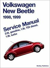 Volkswagen New Beetle 1998, 1999 : Service Manual, 2.0L Gasoline, 1.9L Tdi Dies