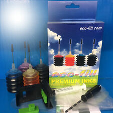 ECOFILL PRO INK Jet Cartridge REFILL KIT HP 300 Deskjet F4288 F4580 F4280 D1600
