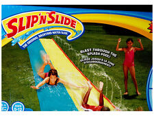 WHAM-O LAWN WATER SLIP N SLIDE AND DOUBLE SLIDER OUTDOOR KIDS BACKYARD TOY FUN