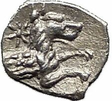 LARANDA in LYCAONIA 400BC Hercules Wolf RARE Ancient Silver Greek Coin i55611