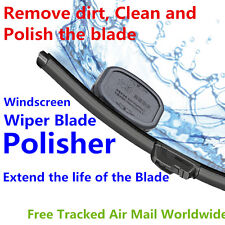 CAR WINDSCREEN WIPER BLADE POLISHER FIXER RESTORER RECONDITION REFURBISH