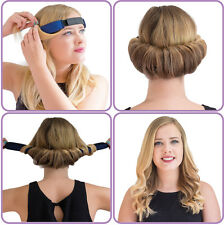 GlamWaves Roller Night Hair Band for Effortless Sleek Waves! Medium/Long Hair