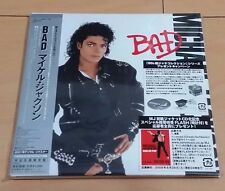 Michael Jackson Bad Japan Mini LP CD EICP-1196 Limited Edition 2009 w/OBI New