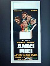 Locandina Originale - AMICI MIEI - 1975 - Regia: MARIO MONICELLI - Commedia-CULT