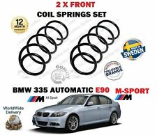 FOR BMW 335i E90 M SPORT AUTOMATIC 306BHP 2006-2011 NEW 2X FRONT COIL SPRING SET
