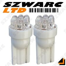2x 501 T10 W5W 194 CAR 6 LED SUPER WHITE XENON WEDGE SIDE LIGHT BULBS 12v HID UK