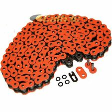 525 x 120 Links Motorcycle ATV ORANGE O-Ring Drive Chain 525-Pitch 120-Links