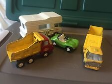 Vintage Tonka Car/truck Lot Winnebago Dump Truck Bottom Dump Dune Buggy