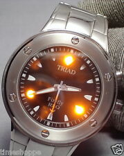 "RARE & UNIQUE TRIAD ""FIREFLY"" REO LIGHT-UP WATCH - TWO COLORS- PRICE SLASHED WOW"