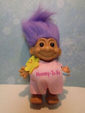 "PREGNANT MOMMY-TO-BE - 5"" Russ Troll Doll - NEW IN ORIGINAL BAG - Last Ones"