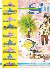 STRAWBERRY SWITCHBLADE 'sugar & spice' UK Photo /ARTICLE/clipping