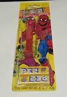 1985 SPIDERMAN - PEZ Toy Original Package (Unglued Opened Package)