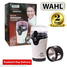 Wahl James Martin Coffee, Herbs Spices Grinder - White and Black ZX789