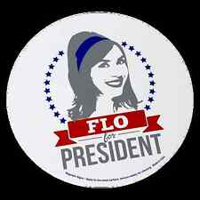 Progressive Insurance Flo for President Car Magnet