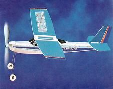 Cessna Rubber Band Powered Airplane Rubberband Power Plane