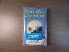 "NEW SEALED ""Crash Test Dummies"" A Worm's Life  Cassette Tape  (G)"