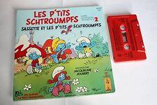 Livre cassette Les Pt'its Schtroumpfs