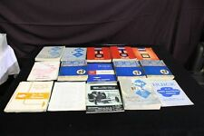 Lot of 16 1963, 64, 65 Buick Service Manuals Chassis, Body and More
