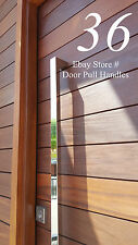 36 INCH Pull Push Handle Entrance Entry Front Door Interior POLISHED CHROME