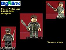 RA's AL GHUL DC Custom Printed LEGO Minifigure with Sword NO DECALS USED!