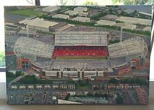 THEATRE OF DREAMS - OLD TRAFFORD HAND PAINTED OIL PAINTING - MANCHESTER UNITED