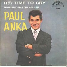 PAUL ANKA--PICTURE SLEEVE ONLY--(IT'S TIME TO CRY)--PS--PIC---SLV