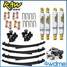 "Nissan Patrol GQ Y60 Ute Cab F & R Shock Leaf Springs 2"" COMPLETE HD Lift Kit"