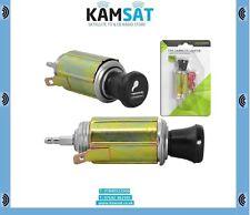 Car Cigarette Lighter 12V Plug Connector + Power Socket Adapter