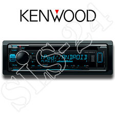 Kenwood KDC-300UV Radio USB CD-Receiver blaues Display iPhone 5 6 iPod Steuerung