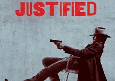 Justified 4 A3 Promo Poster T349