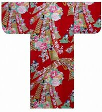 "DM-SYC883-01S-RE YUKATA with Obi 25""-30""-35"" JAPAN Kids Girl's"