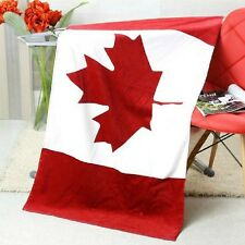 "30""x60"" CA CANADA Flag Banner Big COTTON BEACH BATH POOL TOWEL"