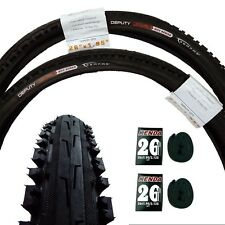 Serfas Meo Deputy 26x1.95 MTB/Commuter City Bicycle-Bike Tires+Tubes Set-New