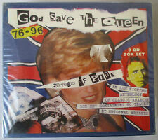 GOD SAVE THE QUEEN 1976-1996 20 YEARS 0F PUNK - 3-CD BOX SET - BRAND NEW
