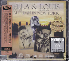 Ella & Louis Autumn In New York Top Music 32 Bits/192 kHz DSD Hybrid SACD New