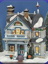 Department 56 Snow Village ELMWOOD HOUSE 55398 BNIB Retired Dept 56
