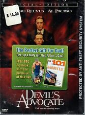 Devil's Advocate (DVD, 2006) Special Edition Includes a Book 101 BBQ Tips