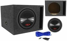 Alpine SWR-12D4 3000 Watt Type R Car Subwoofer + Vented Sub Enclosure Box