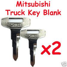 Mitsubishi Truck Key blank  x 2 pack