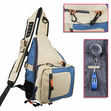 Fly Fishing Sling Pack with Tippet Holder Line Nipper Fishing Bag Backpack