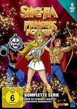 SHE-RA PRINCESS OF POWER Shera DIE KOMPLETTE SERIE EPISODEN 1-93 * 6 DVD Box NEU