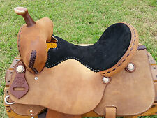 "15"" Spur Saddlery Barrel Racing Saddle - Bear Trap - Made in Texas"