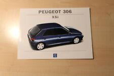 02188) Peugeot 306 XSi Prospekt 07/1994