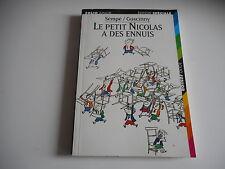 LE PETIT NICOLAS A DES ENNUIS - SEMPE / GOSCINNY - FOLIO JUNIOR