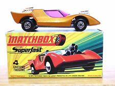 Matchbox Lesney No.4e Gruesome Twosome In Type 'H2' Without 'NEW' Box (VGC)