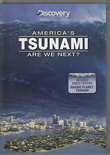 Discovery Channel - America's Tsunami: Are We Next? (DVD, 2008) New