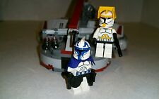 Lego Star Wars Commander Cody and Capt. Rex Custom figure with Swamp Speeder Set