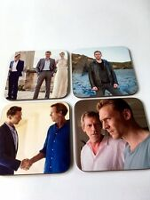 The Night Manager Tom Hiddleston Ensemble de sous-verres