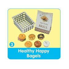 "Re-Ment ""Bread & Butter"" #3: Healthy Bagels,1:6 Barbie size kitchen food mini"